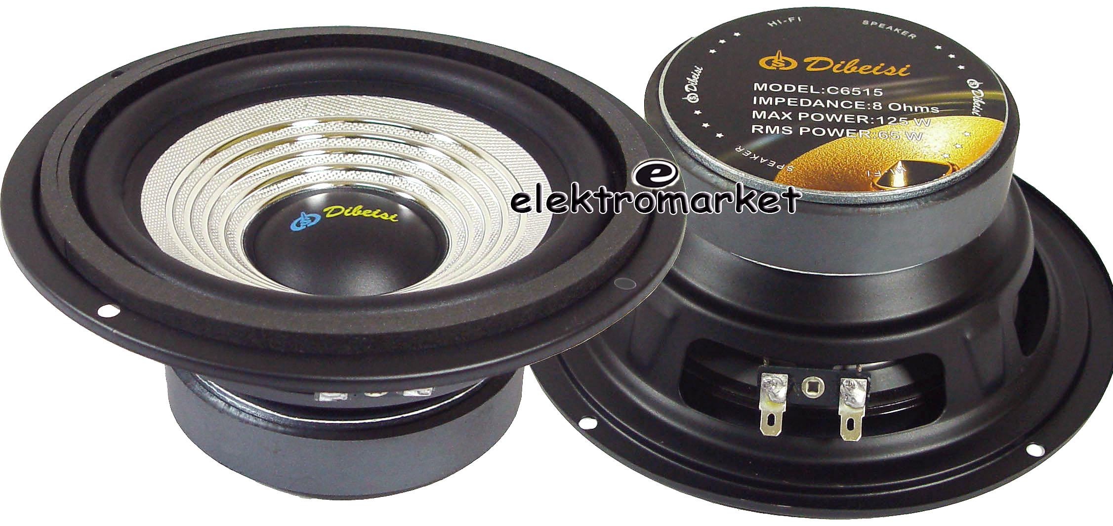 dwa głośniki 6.5 C-6515