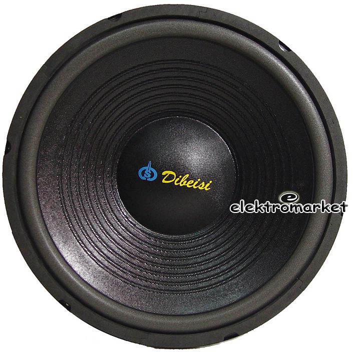 głośnik niskotonowy 38 cm Dibeisi PS1505 front