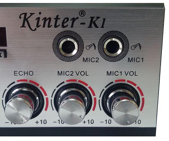 Wzmacniacz AV VK-K1 gniazda mikrofonu