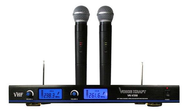 Zestaw 2 mikrofonów bezprzewodowych Voice Kraft VK350
