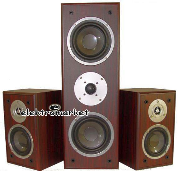 kolumny 2.1 Voice Kraft VK-7820 ciemna wiśnia