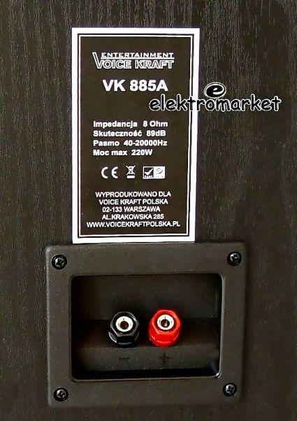 terminal z tyłu VK-885A