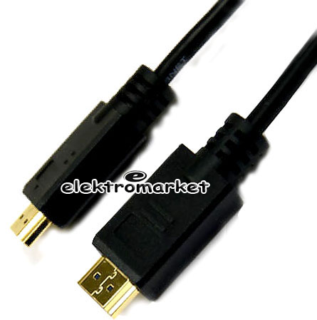 złocone końcówki kabla HDMI firmy Voice Kraft