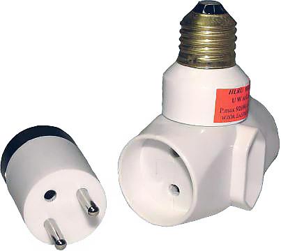 złodziejka adapter elektryczny e27