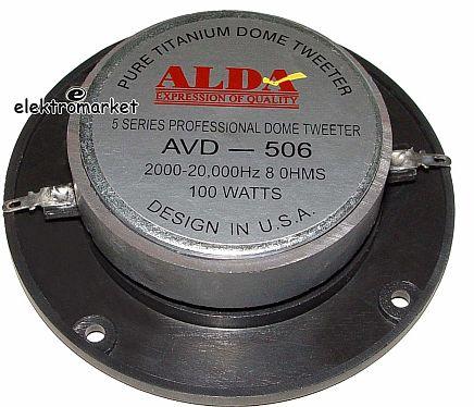 Głośnik wysokotonowy AVD 506 tył