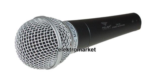 mikrofon Azusa DM-80 MIK2024 z boku