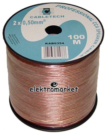 kabel głośnikowy 0,75 mm Cabletech KAB0354