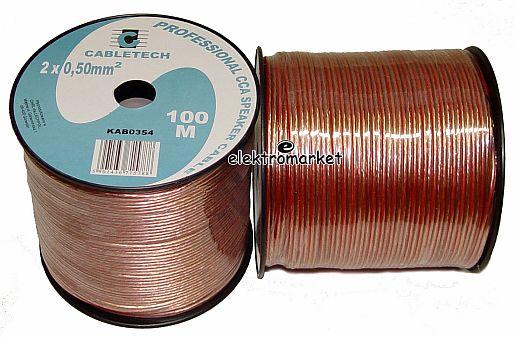Profesjonalny kabel głośnikowy CCA KAB0354