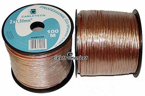 kabel głośnikowy Cabletech KAB0358