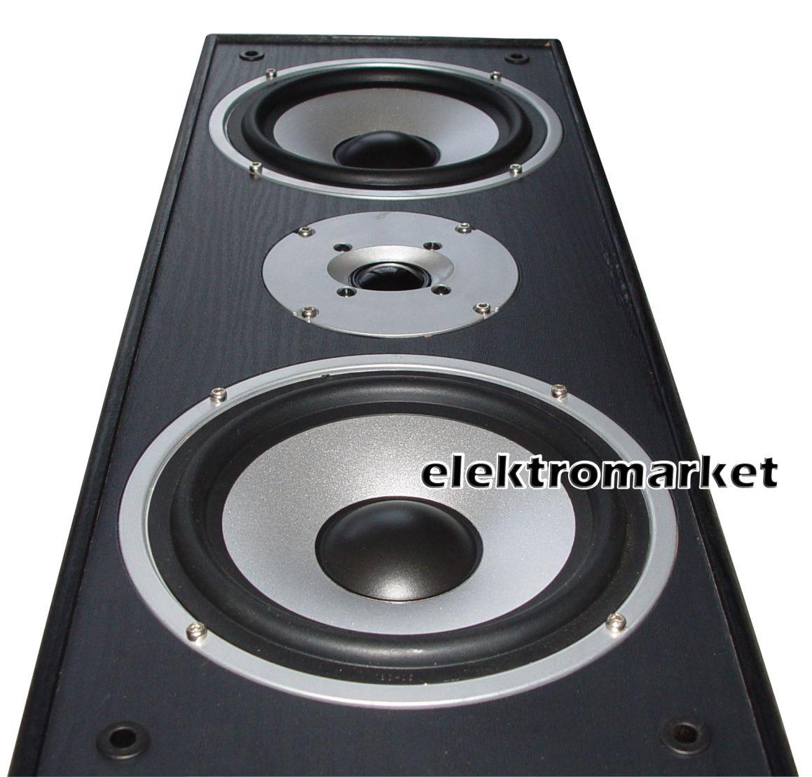 Kolumny podłogowe Voice Kraft VK-1004 zbliżenie