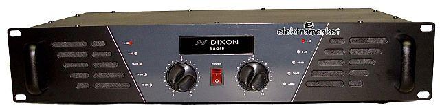 Wzmacniacz DIXON MA240 front panel