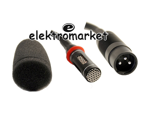 Mikrofon pojemnościowy Azusa MIK0023 zblizenie