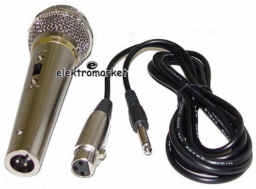 Mikrofon HM-220 Azusa MIK0001 + kabel